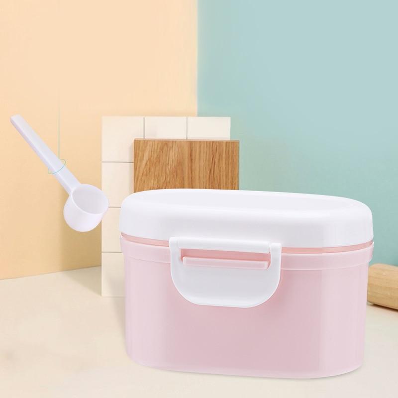 Baby Milk Powder Box Food Storage Snack Box Portable Infant Cereals Milk Powder Container Storage Pot