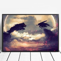 Berserk Manga Pop Japan Anime Poster Canvas Art Print Wall Pictures for Living Room No Frame