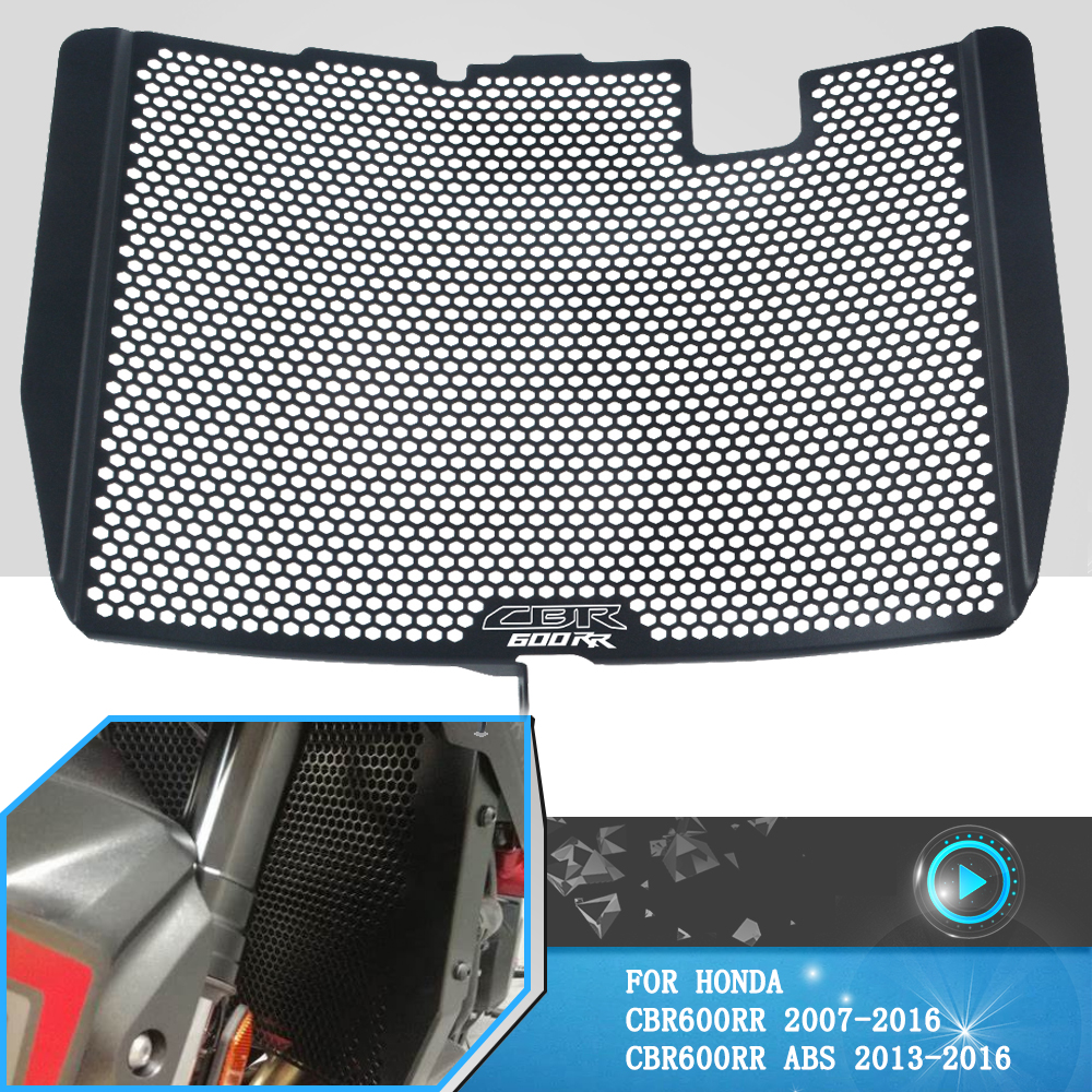 For Honda CBR 600 RR cbr600rr CBR600RR ABS 2007-2016 2015 2014 Motorcycle Radiator Grille Guard Cover oil cooler grill Protector