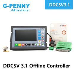Новое поступление! DDCSV3.1 Автономный контроллер движения Автономный контроллер Поддержка 3 оси/4 оси USB CNC контроллер интерфейс