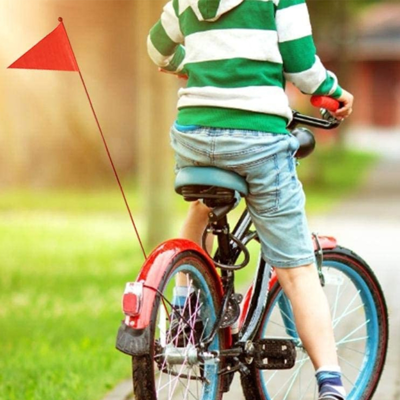 1 Pieces Safety Pennant Divisible 120 cm/180cm Bicycle Flag For Boys And Girls Cycling Balance Bike