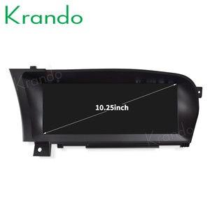 Krando Android 10,0 10,25 автомобильный Радио dvd НАВИГАЦИЯ для Mercedes BENZ S W221 W216 CL 2005-2013 мультимедийный плеер 4G LTE