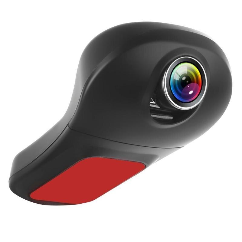 Горячая Распродажа, Автомобильный видеорегистратор, одноцветная камера V23A Full HD 1080 p, приборная панель, объектив 170 градусов, WDR, WiFi, приложени...