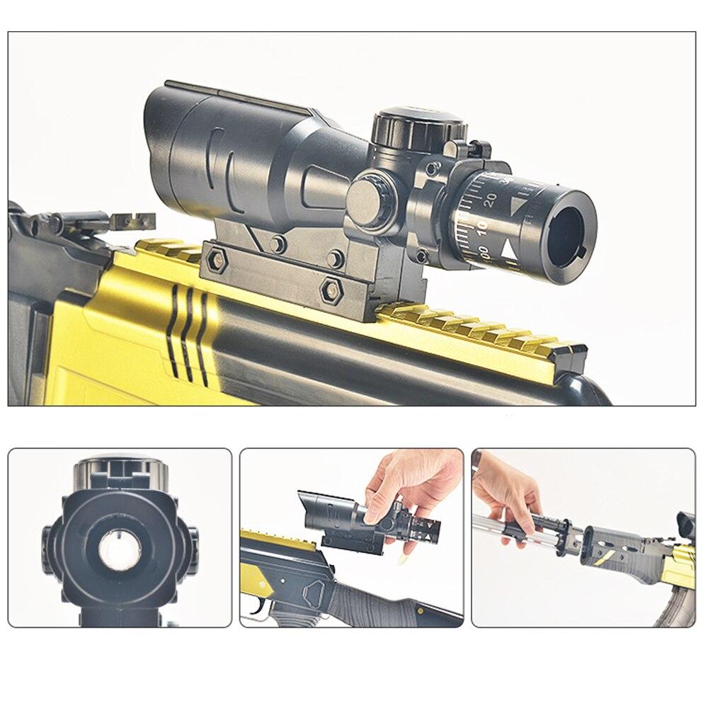 Assault Manual Rifle AKM Toy Gun AK 47 Water Bullet Shooting Boys Outdoor Toys Air Soft Sniper Arms Weapon Airsoft Air Guns Gift 2