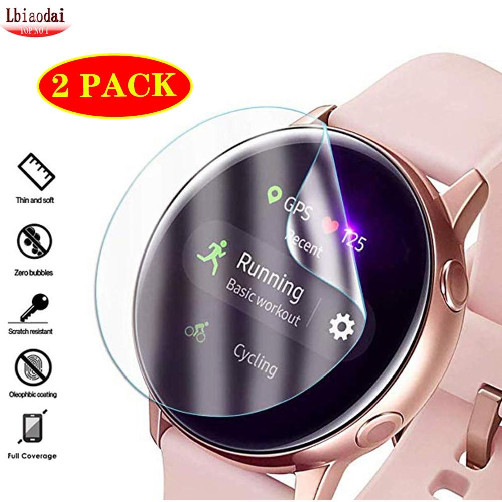 2 шт., ультратонкая Защитная пленка для Samsung Galaxy watch active 2 44 мм 40 мм