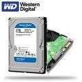 Внутренний жесткий диск WD Western Digital Blue, 1 ТБ, 3 ТБ, 4 ТБ, Hdd Sata, 3,5 дюйма, жесткий диск для настольных ПК