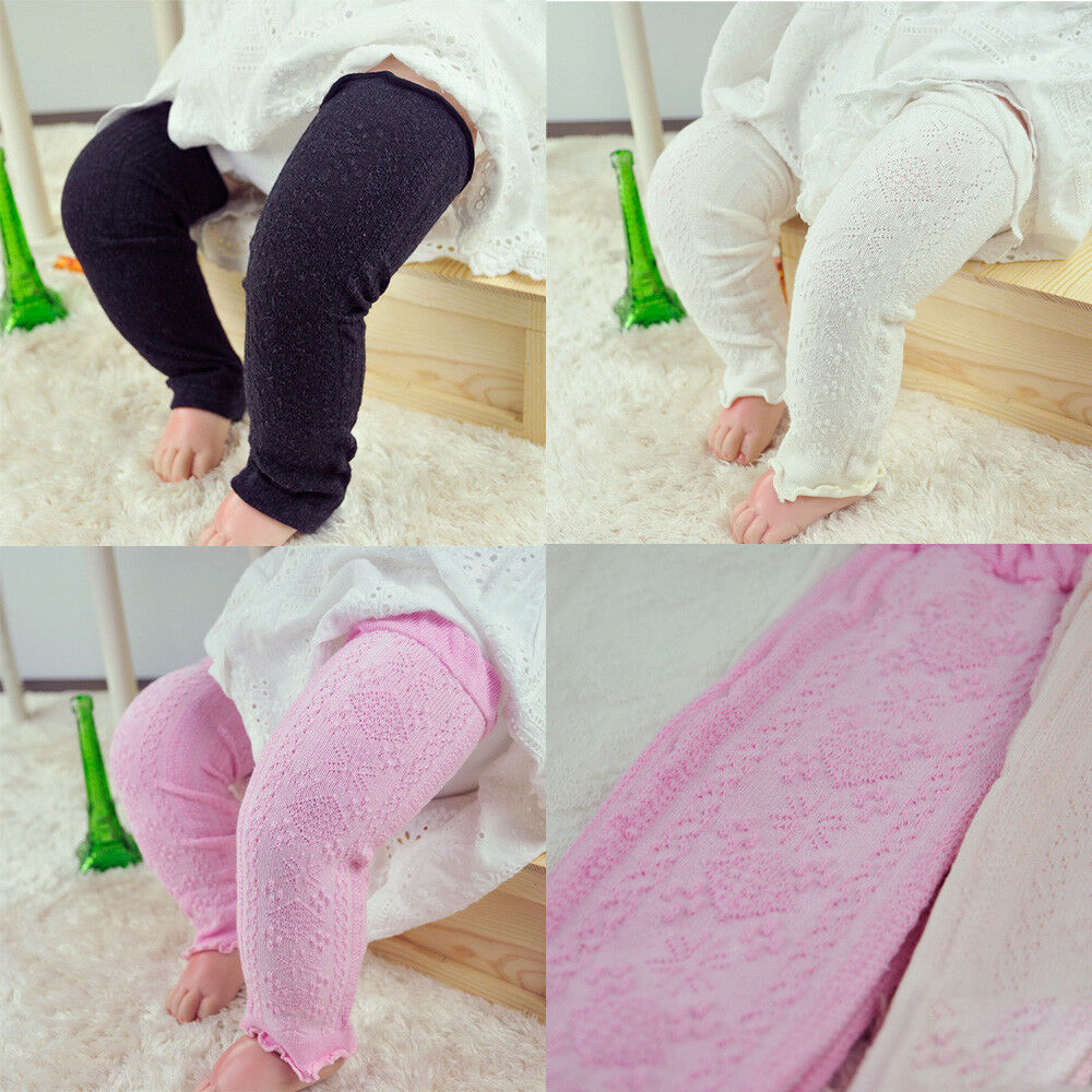 Fashion Baby Child Kid Solid Plain Checks Long Socks Tights Arm Leg Warmers WATXW0009