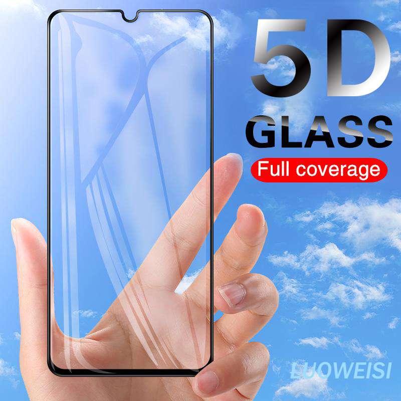 9H Full Cover Tempered Glass For Samsung Galaxy A10 A20 A30 A40 A50 A60 A70 A80 A90 A30S A50S M30 M40 Glass Screen Protector