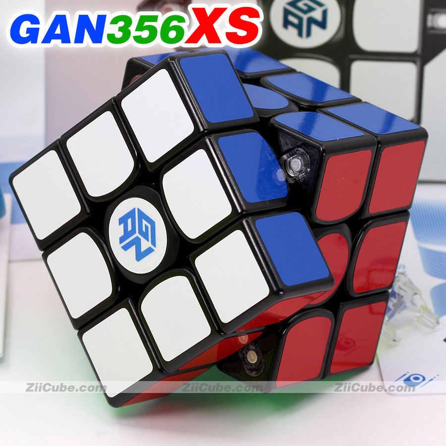 Ar GAN356 2020 M 356 Cubo Mágico 3x3x3 Magnético interruptor brinquedos quebra-cabeça Preto