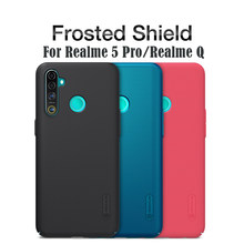 Nillkin Case Voor Oppo Realme 5 Pro Realme Q Cover Super Frosted Shield Hard Pc Protector Back Cover Voor Oppo realme5 Pro Case(China)