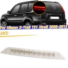 Cooyidom Derde Remlicht High Mount Stop Achter Lamp 3RD Voor Nissan X Trail T31 Xtrail 2008 2010 2011 2012 2013 Achterlicht