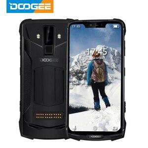 IP68/IP69K DOOGEE S90 modułowe wytrzymały telefon komórkowy 6.18 cal wyświetlacz 5050mAh Helio P60 octa core 6GB 128GB z systemem Android 8.1 16.0M Cam