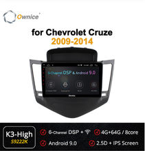 Ownice 8Core 2din Android 9.0 voiture dvd GPS pour chevrolet Cruze 2009 2010 2011 2012 2013 360 panoramique DSP 4G LTE SPDIF autoradio(China)