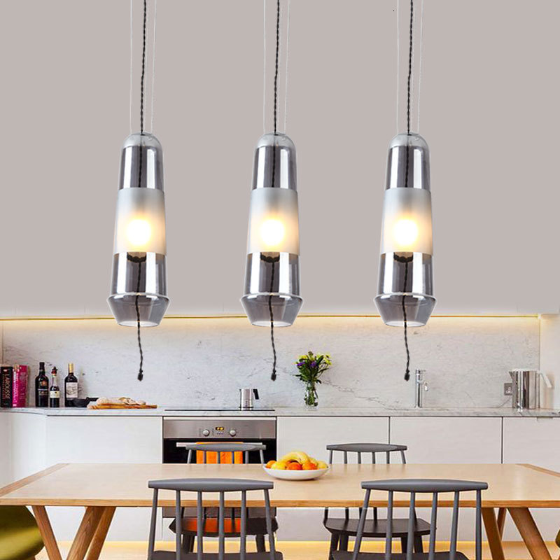 Designer A Living Room Restaurant Bedroom Model Between Originality Personality Bar Counter Glass Single Head A Chandelier