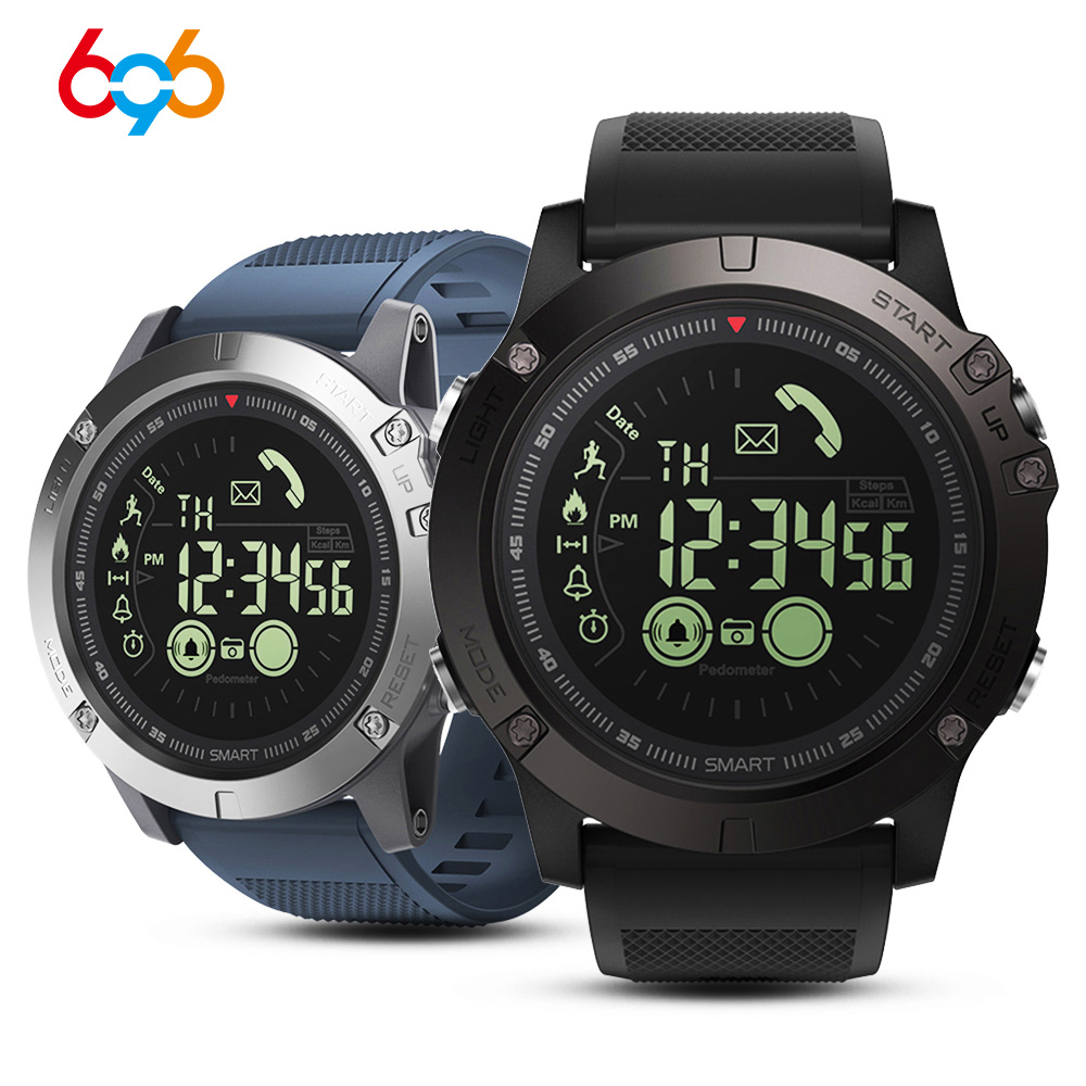 Waterproof Sports Smart Watch Blood Pressure Heart Rate Monitor Control Photo Long Standby Smartwatch EX17S for iOS Android Hua