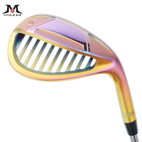 Mazel Colorful Golf Clubs Sand Wedge Mens Golf Clubs CNC Face Hollow Out Design 59 Degree