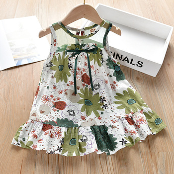 Baby Girls Cheongsam Dress Summer Kids Clothing 2020 New Girl Retro Cheongsam Chinese Japanese Style Dresses 2 3 4 5 6 7 8 Years традиционное китайское платье brand new peking cheongsam ccw005