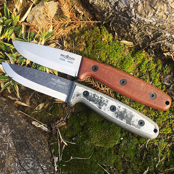 Brother F006 survival  straight knife Hunting fixed blade knife tactical knife, straight knife hunting camping survival outdoor hx outdoors survival fixed knife bamboo handle camping knife black blade saber tactical tools cold steel hunting straight knife