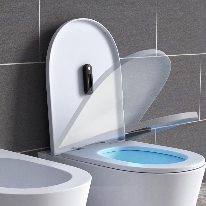 3W Bathroom Toilet UV Light Ultraviolet Lamp Washroom Lavatory Germicidal Sterilizer Disinfection Lamp For Bath USB Rechargeable