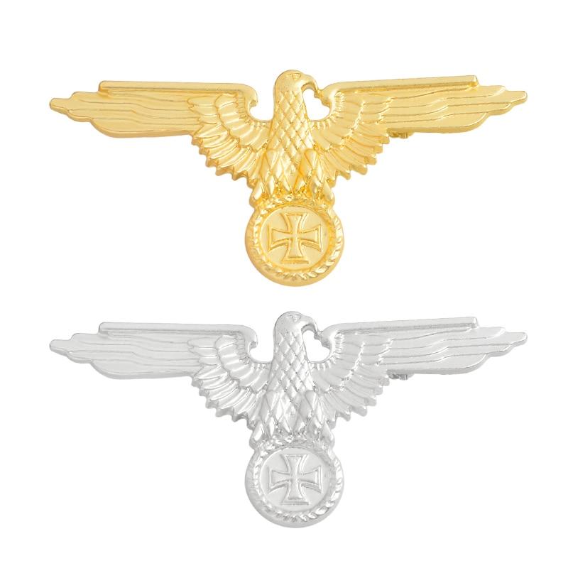 Немецкая военно-морская армия, военно-воздушные силы, булавка, танк, Воздушный самолет, линкор, эмалированные броши для одежды, сумки, орла, нагрудные значки, Винтажные Ювелирные изделия, подарок - Окраска металла: mixed 2