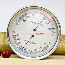 132Mm Pointer Type Thermal Bimetal Thermometer and Hygrometer Table Indoor and Outdoor Temperature and Humidity Meteorological I(China)