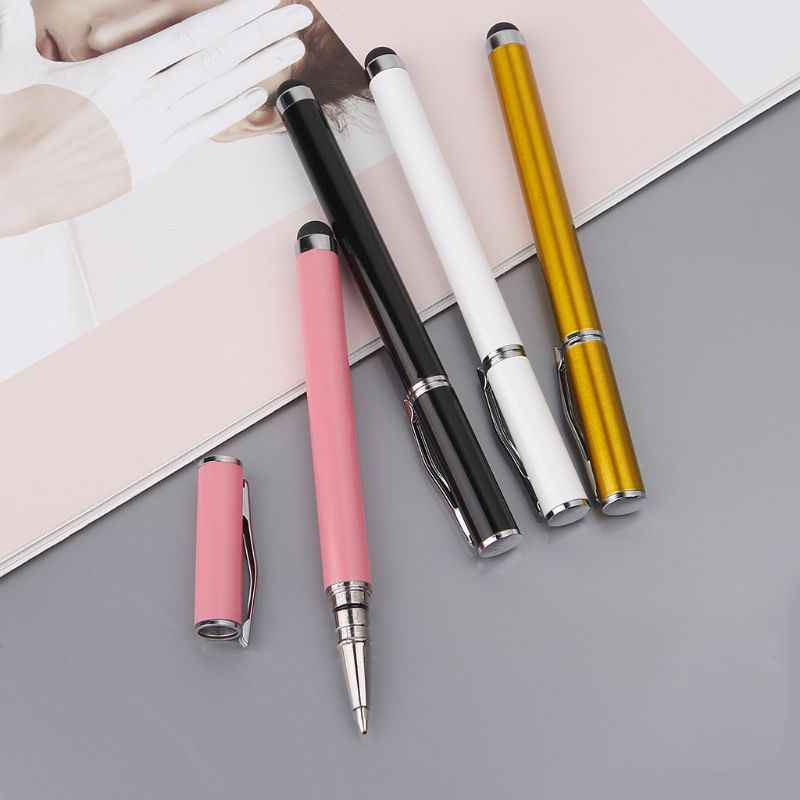2 em 1 de Escrita Stylus Capacitive Touch Screen Pen Tablet Telefone Inteligente para iPad Mini DXAC