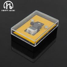 Caneta magnética do cartucho do milímetro com agulha do vinil do lp para acessórios do gramofone do jogador do registro da plataforma giratória