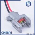 2 Pin Delphi 1,5 мм водонепроницаемый автомобильный разъем топливный дизельный инжектор Топливная рейка штепсельная вилка T15 10811963 240PC024S8014 с 15 см п...