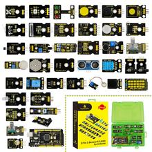 2019 new! arduino kit 용 keyestudio 새로운 센서 스타터 키트 v2.0 37 in 1 box (메가 2560 보드)