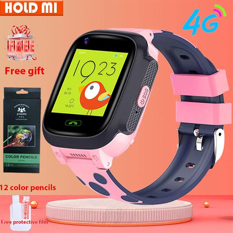 4G Kinderen Slimme Horloge IP67 Waterdichte Smartwatch Gps Wifi Tracker Camera Video Call Voor Baby Y95 Pk A36E
