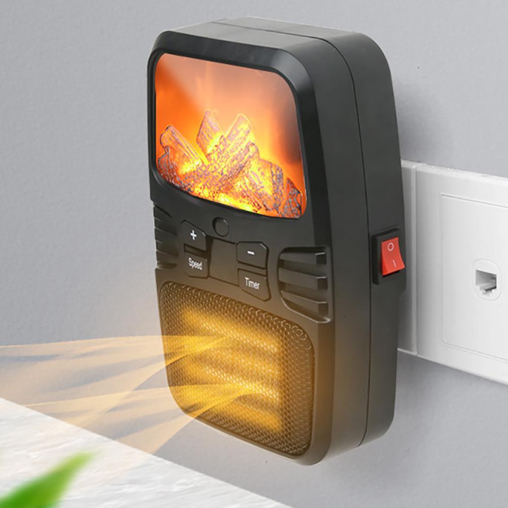 500 Вт мини электрический тепловентилятор PTC керамический быстрый нагреватель офисный Настольный конвектор небольшой портативный электрич