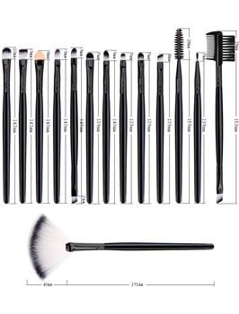 Professional Makeup Brushes Set Powder Foundation Blusher and Eyeshadow Tools For Women Cosmetic 25Pcs Brushes Set 6