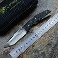 Kevin John Messer VENOM II M390 Klinge kugellager Flipper Klappmesser Titan griff Jagd Überleben messer Außen Zahnräder