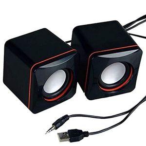 1pair Portable Mini Stereo Spe
