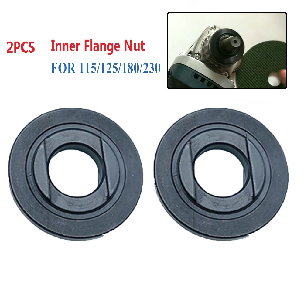 16mm Thread Angle Grinder Inner Flange Nut Set Tool Power Replacement For 115/125/150/180/230 Angle Grinder For Bosch Makita.