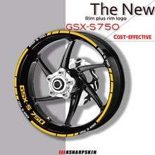 Stickers Reflective-Wheel-Sticker Motorcycle Suzuki gsx-S750 Gsxs 750 Protection-Decals