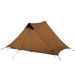 Image 1 - 3F UL ציוד LanShan 2 אוהל Oudoor Ultralight קמפינג 15D Silnylon 1 אדם 2 אדם אוהל 3 עונה אוהל חורף עונת 4 אוהל