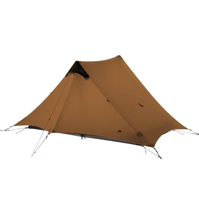 3F UL ציוד LanShan 2 אוהל Oudoor Ultralight קמפינג 15D Silnylon 1 אדם 2 אדם אוהל 3 עונה אוהל חורף עונת 4 אוהל