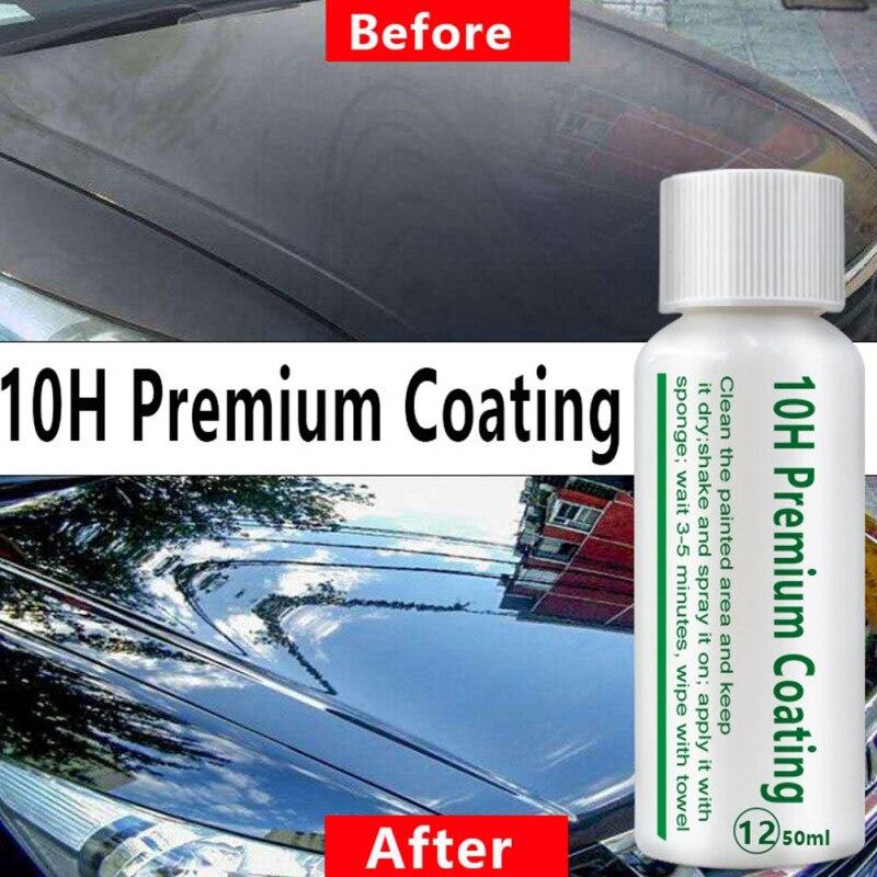 10H Nano Car Oxidation Liquid Ceramic Coating Paint Care  Automotive Plating Liquid Suit