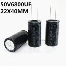 Original 3 PIÈCES/Condensateur Électrolytique 50V6800UF 22X40MM 105 6800UF 50V 22*40MM 22*40