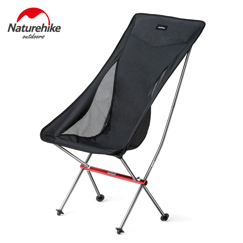 Naturehike YL06 Camping Chair Collapsible Fishing Chair Foldable Hiking Travel Chair Ultralight Portable Folding Camping Chair