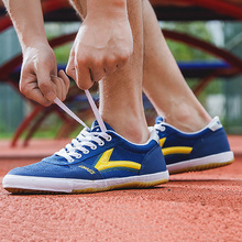Professional Unisex Table Tennis Shoes Men Table Tennis Sports Shoes for Exercise Women Anti-Slide Breathing Ping-Pong Traps