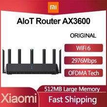 Routeur d'origine Xiaomi AIoT AX3600 5G 512RAM Wifi 6 2.4G 5.0G double bande 2976Mbs Gigabit Qualcomm A53 amplificateur de Signal externe