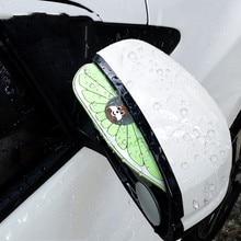 цена на Universal 2PCS Rearview Mirror Rain Eyebrow Rain Cover Awnings & Shelters Hot Sale Car Accessories