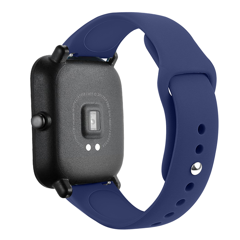 Silicone Watchband Strap For Xiaomi Huami Amazfit GTS/GTR 42mm/Bip Lite Smart Watch Band Bracelet Sport Replacement Wristband