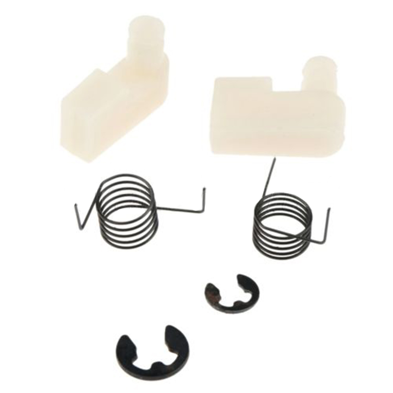 6x Flywheel Starter Pawl Spring Clip Kit Fits For Chainsaw 4500/5200/5800/43CC