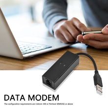 Data-Modem Modem-Cable Dial-Up External USB for Windows-Xp 8/Win-7/Single-port/.. Data/fax