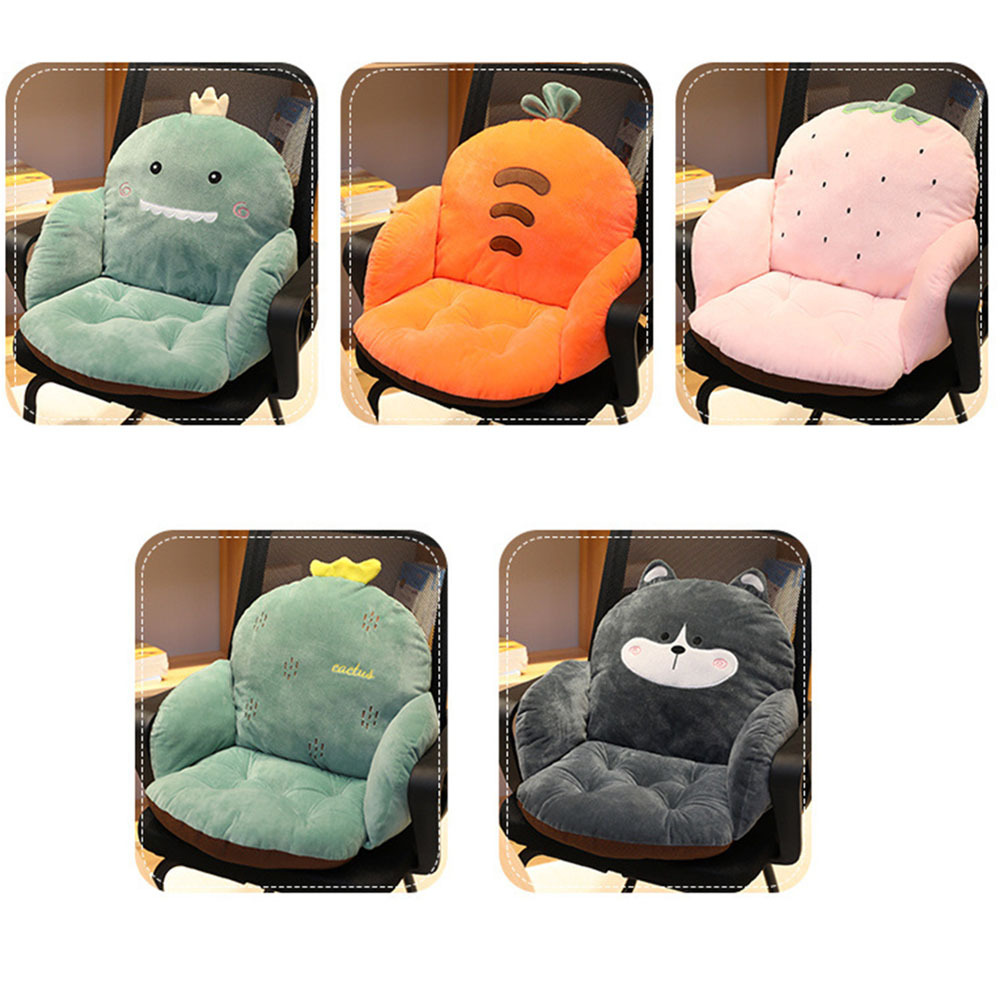 Lovely Cartoon Chair Cushion for Home Decor and Office Thicken Seat Pad Sofa Plush Pillows Pillow Car Seat in Baby Seats Sofa from Mother Kids