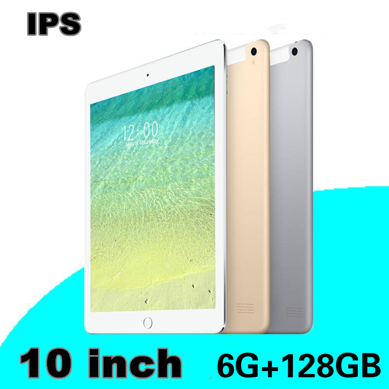 YAHU 10.1 Inch Ten Core Anrdoid 8.0 Tablet 6G+128GB  WiFi GPS Bluetooth Dual SIM Dual Camera 4G Phone Tablet  Kids Gift Tablet