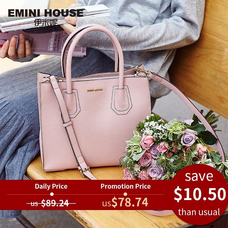 Tote Bag Crossbody-Bags Emini House Lady Handbags Designer Women Split
